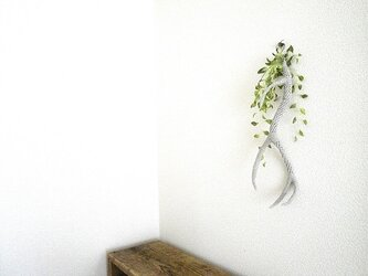 鹿のツノのオブジェ〈リネン〉の画像