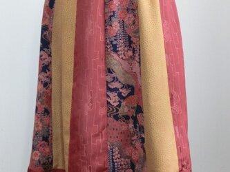 12枚接ぎスカート(着物リメイク)50%OFFの画像