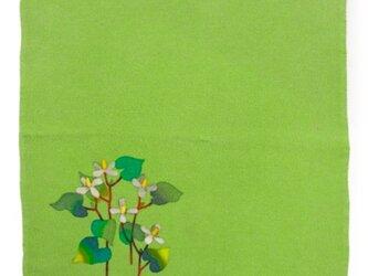 縮緬小風呂敷 野草の画像