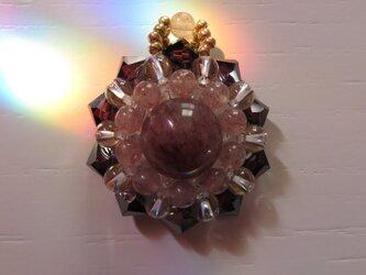 モスコバイト・花形ペンダントトップA(ptflmv03)の画像