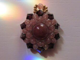 モスコバイト・花形ペンダントトップA(ptflmv35)の画像