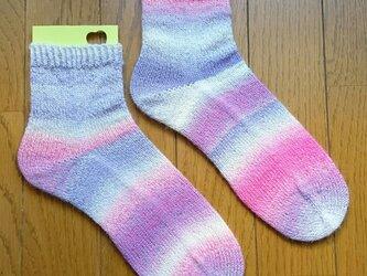手編み靴下 schoppel クレイジーザウバーボールの画像