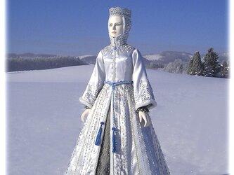 創作人形*雪の女王*の画像