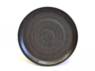 中皿(23cm) 黒-kuro-の画像