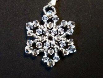 ペンダント・氷の結晶・M06の画像