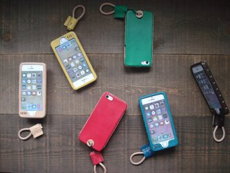 iPhone case 8/7/6S/6/SE/5S/5 Six colors 【受注製作】の画像