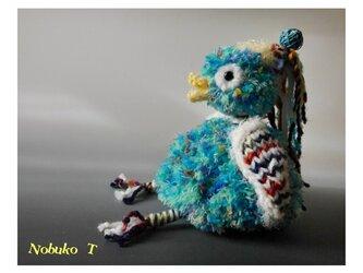 フシギなトリ(ブルー)の画像