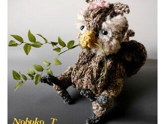 フシギなトリ(ミミズクザウルス)の画像
