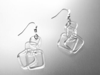 Square Chain Earringの画像