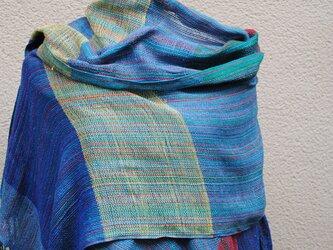 手織シルクストールWの画像