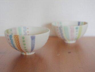 パステルライン茶碗の画像