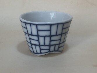 Z021 磁器染付酒杯(猪口、ぐい飲み)の画像