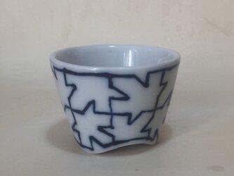 Z022 磁器染付酒杯(猪口、ぐい飲み)の画像