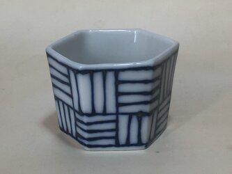Z023 磁器染付酒杯(猪口、ぐい飲み)の画像