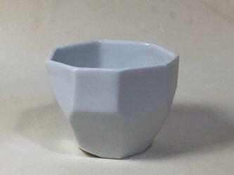 Z028 磁器面取酒杯(猪口、ぐい飲み)の画像
