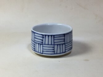 Z037 磁器染付酒杯(猪口、ぐい飲み)の画像