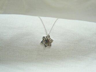 麻の葉(ネックレス SV925)の画像