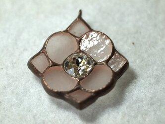 花形 ネックレス(クリスタル)の画像