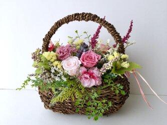 Basket arrange「受注制作」の画像
