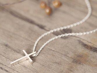Classic 十字架 ネックレス シルバー925の画像