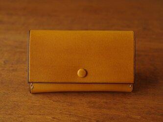 【受注生産】Business Card Case/yellowの画像