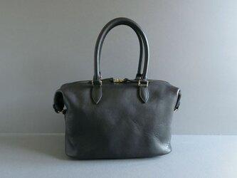 boston bag (black)の画像