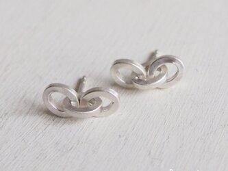 【受注制作】- Silver - Flat Chain ピアスの画像