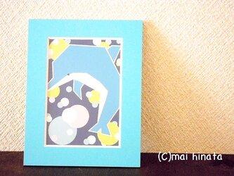 ミニアート&フレーム/イルカの画像