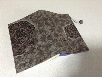 953      ☆再販☆    モスリン      文庫サイズブックカバーの画像