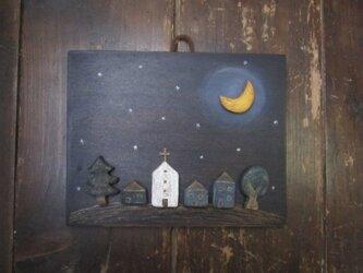 再販:月の夜 壁かざりの画像
