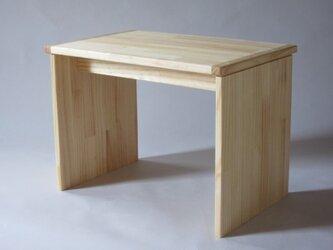 ■OKOテーブル■ W515xD340xH378 *椅子は付いていません。の画像