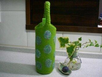 「K.様ご予約品」ボトルホルダー (若草色)の画像