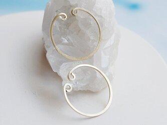 【K14GF】イヤリング*Loop Earringsの画像