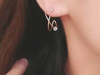 雑誌掲載作品【K14GF】Line of double pierceの画像