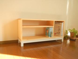 テレビボード90  【ナチュラル色】の画像