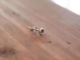 針突(ハジチ)刻印耳飾片耳アマン rpc-44の画像