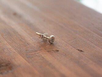 針突(ハジチ)刻印耳飾片耳タカゼン(高善) rpc-46の画像