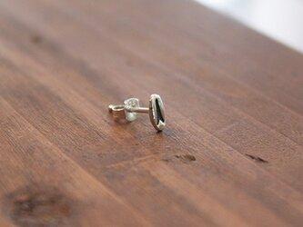 針突(ハジチ)刻印耳飾片耳トゥギャー rpc-47の画像