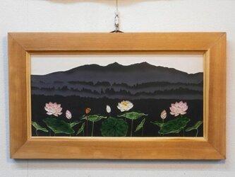 なつかしの山・思い出の花シリーズ「筑波山・蓮」の画像