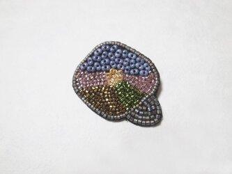 ブローチ〈色椿〉の画像
