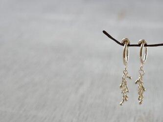 純銀のイヤリング「かならず」の画像