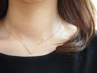 14kgf Necklace Vの画像