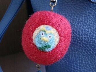 りんごカッパ君バッグチャーム  CS0102の画像