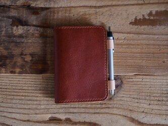 A7サイズのノートカバー(ブラウン)の画像