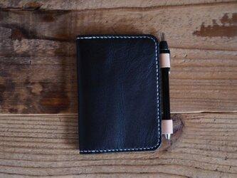 A7サイズのノートカバー(ネイビー)の画像