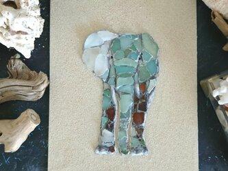 Seaglass Walldecoration「ゾウ」の画像