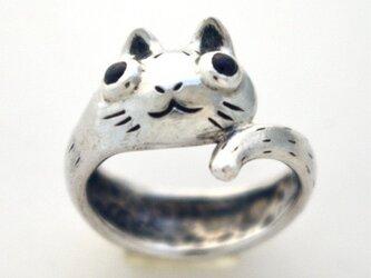 巻き猫リングの画像
