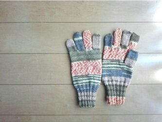O 様オーダー分 ほっこりカラーの手袋の画像