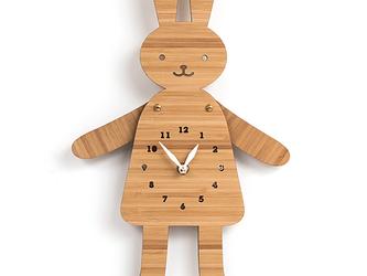 BUNNY(うさぎ)の掛け時計の画像