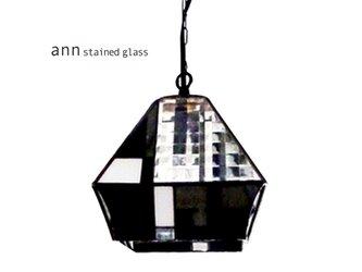 ステンドグラスランプ C161213-Bの画像